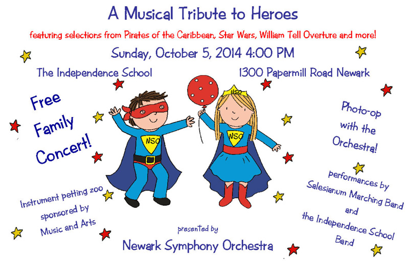 THE NEWARK SYMPHONY'S ANNUAL FREE FAMILY CONCERT